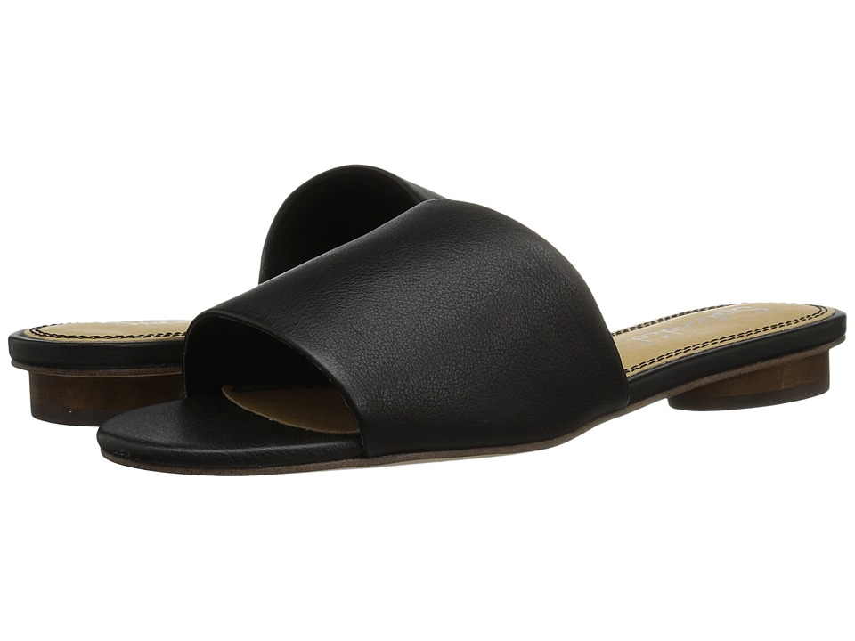 Splendid - Betsy (Black Leather) Women's Sandals