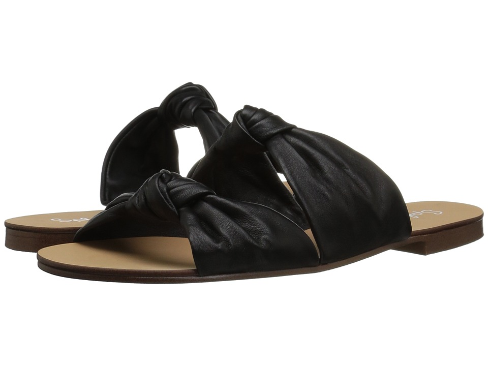 Splendid - Barton (Black Leather) Women's Sandals