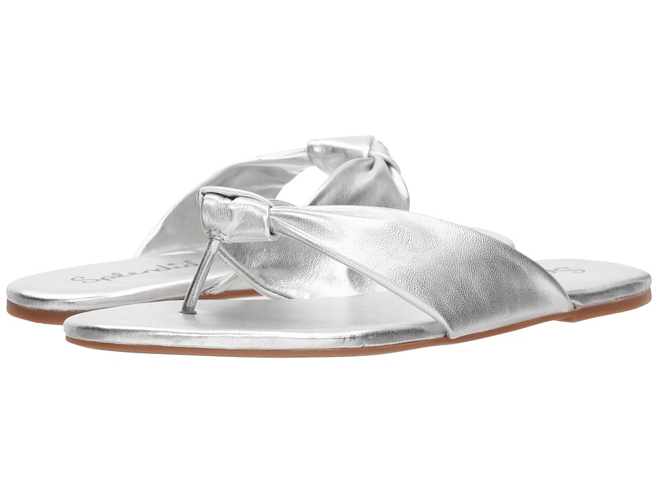 Splendid - Bridgette (Silver Metallic Leather) Women's Sandals