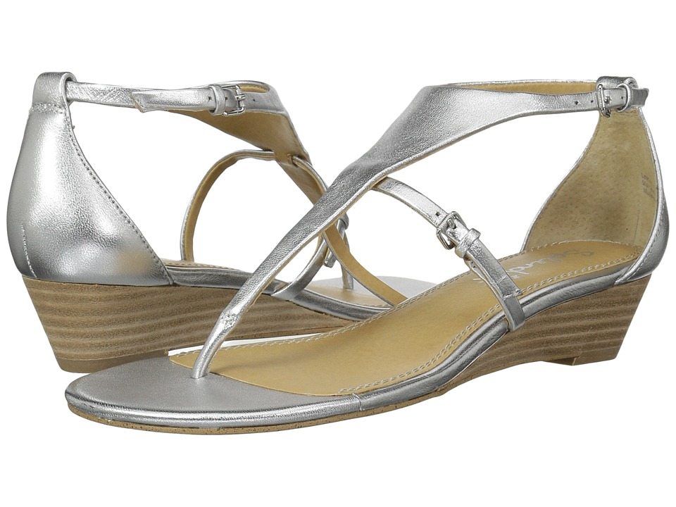 Splendid - Brooklyn (Silver Metallic Leather) Women's Sandals
