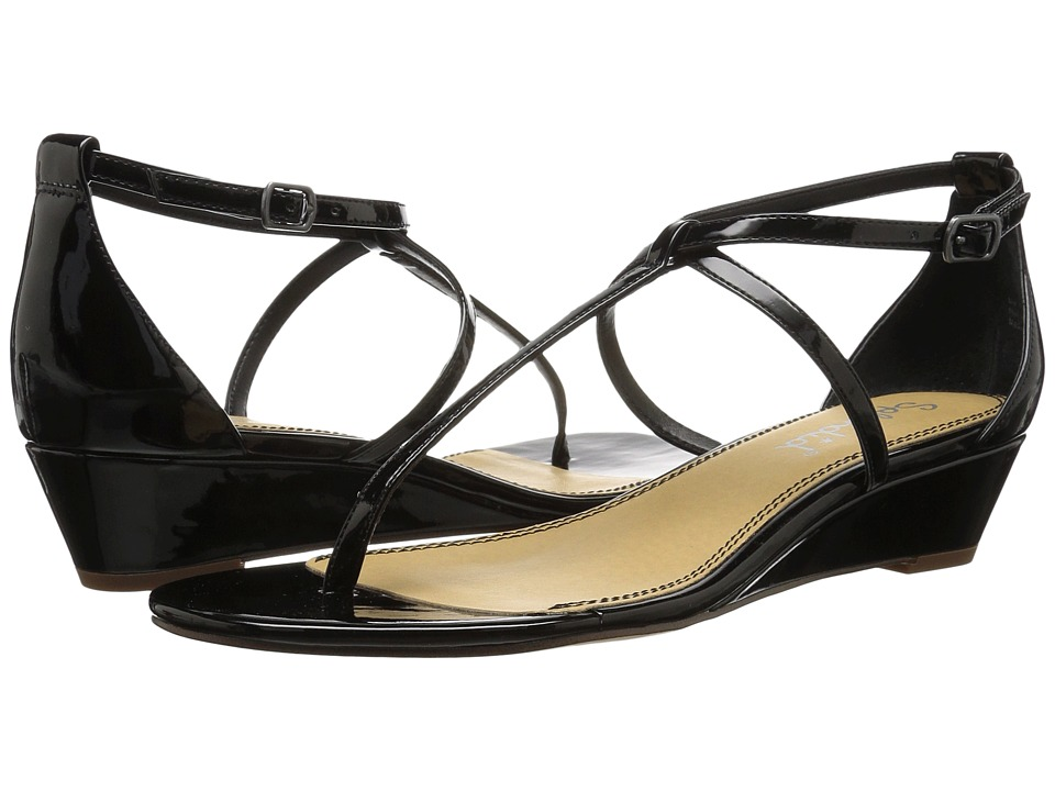 Splendid - Bryce (Black Patent) Women's Sandals