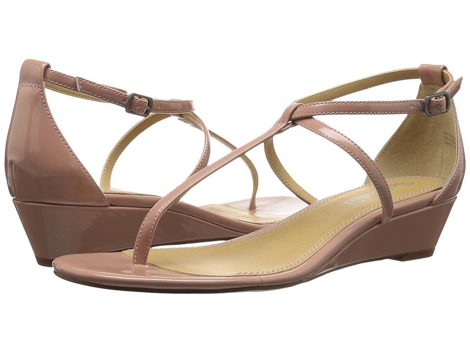 Splendid Bryce (Dark Blush Patent) Sandals