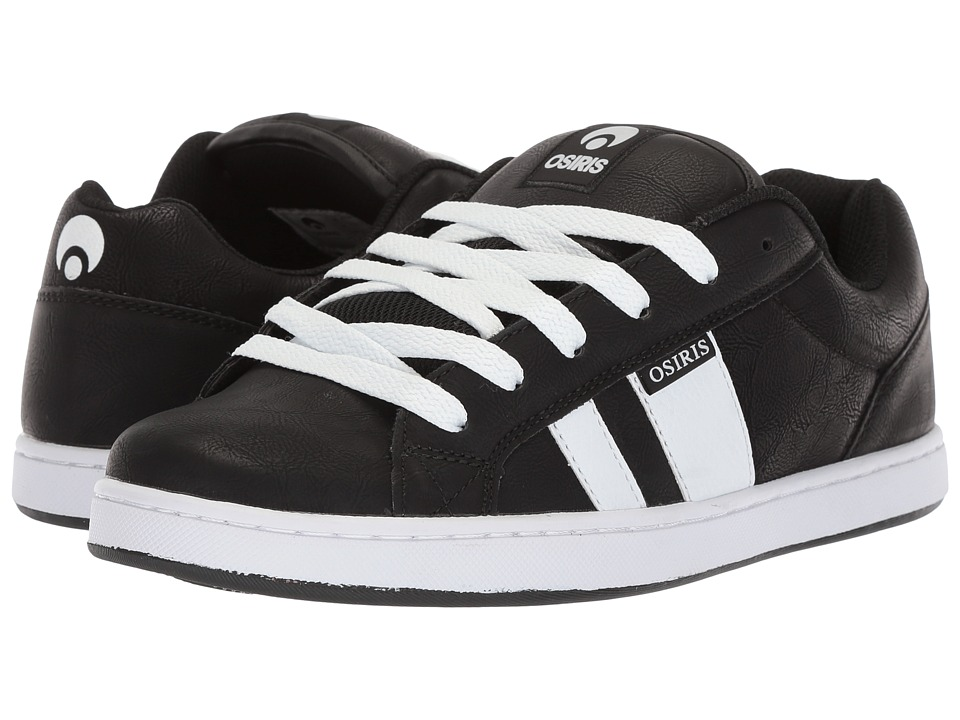 Osiris - Loot (Black/White/Black) Mens Skate Shoes