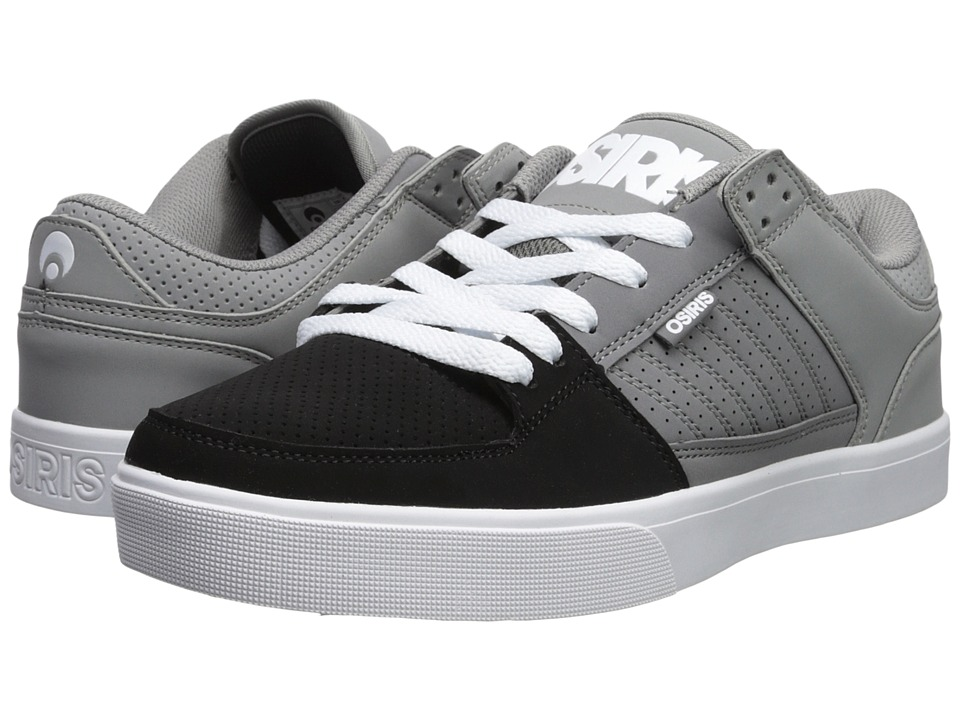 Osiris - Protocol (Grey/Charcoal/Black) Mens Skate Shoes