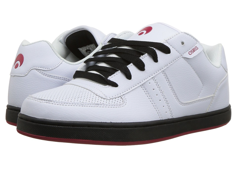 Osiris - Relic (White/Red/Black) Mens Skate Shoes