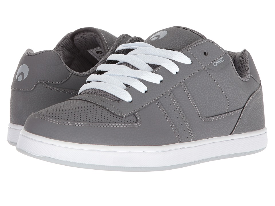 Osiris Relic (Grey/White/Light Grey) Men's Skate Shoes