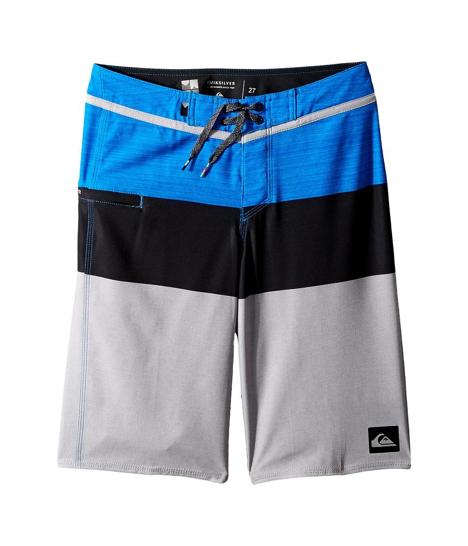 Quiksilver Kids Everyday Blocked Vee Boardshorts (Big Kids) (Electric Blue) Boy