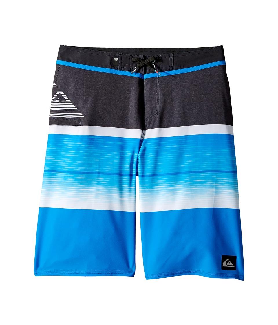 Quiksilver Kids Slab Logo Vee Boardshorts (Big Kids) (Electric Blue) Boy