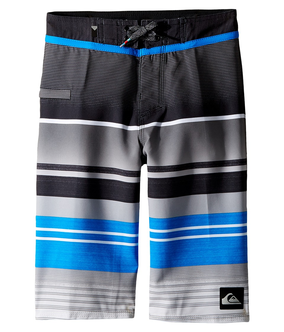 Quiksilver Kids Everyday Stripe Vee Boardshorts (Big Kids) (Electric Blue) Boy