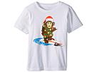 Quiksilver Kids Santa Surf Monkey Tee (Toddler/Little Kids)