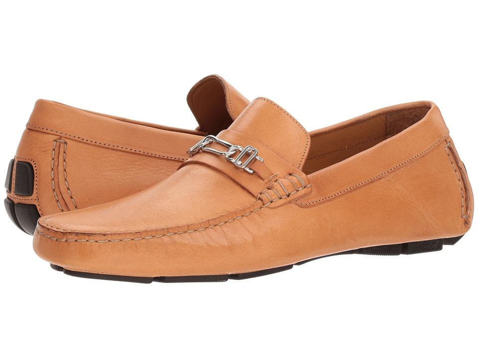 Right Bank Shoe Cotm - Owen Driver (Natural) Mens Slip on  Shoes