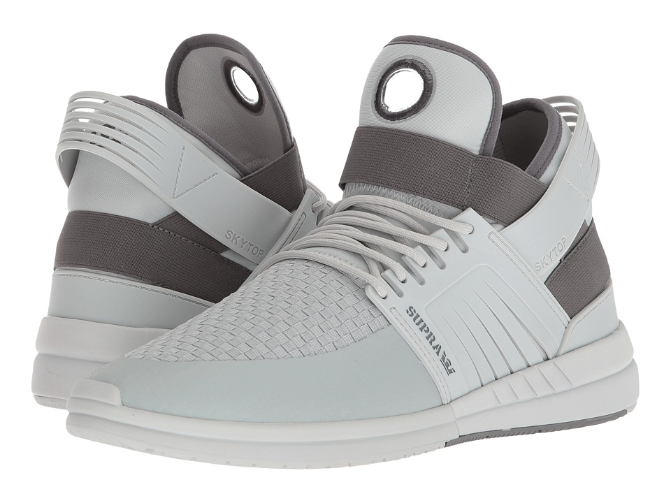 Supra - Skytop V (Cool Grey/Bone) Mens Skate Shoes