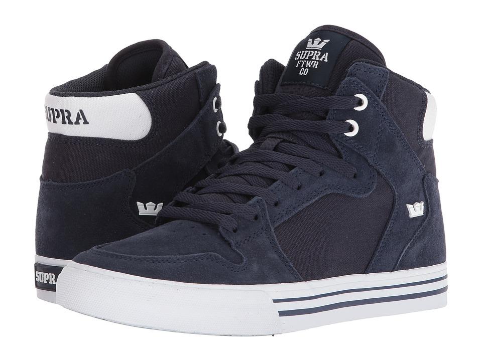 Supra Vaider (Navy/White) Skate Shoes