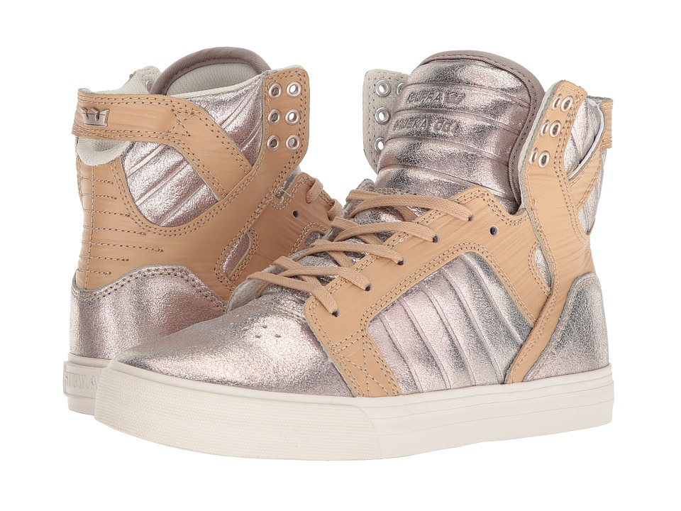 Supra Skytop (Champagne/Bone) Women's Skate Shoes