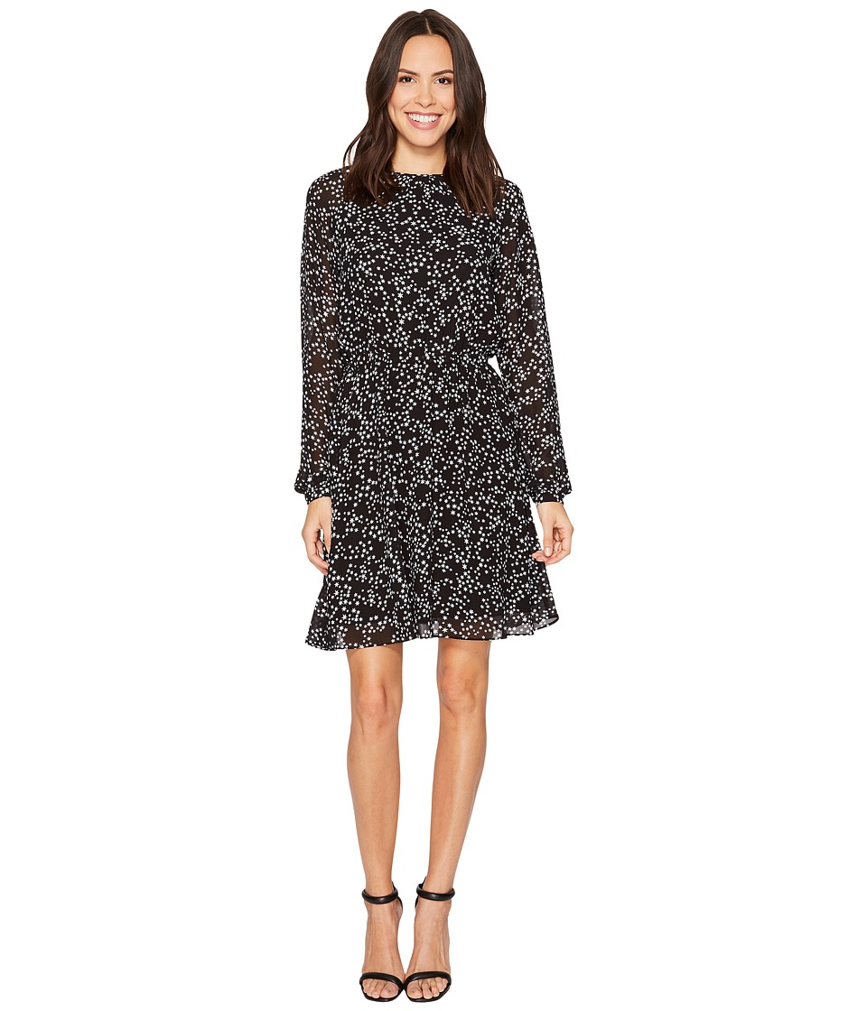 MICHAEL Michael Kors Shooting Star Dress (Black/White) Women
