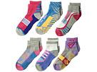 Jefferies Socks Tech Sport Quarter 6-Pack (Toddler/Little Kid/Big Kid/Adult)