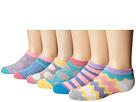 Jefferies Socks Dots/Stripes Low Cut 6-Pack (Toddler/Little Kid/Big Kid)