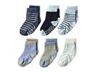 Jefferies Socks Non-Skid Crew 6-Pack (Infant/Toddler)