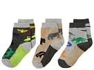 Jefferies Socks Land Animal Crew 3-Pack (Infant/Toddler/Little Kid)