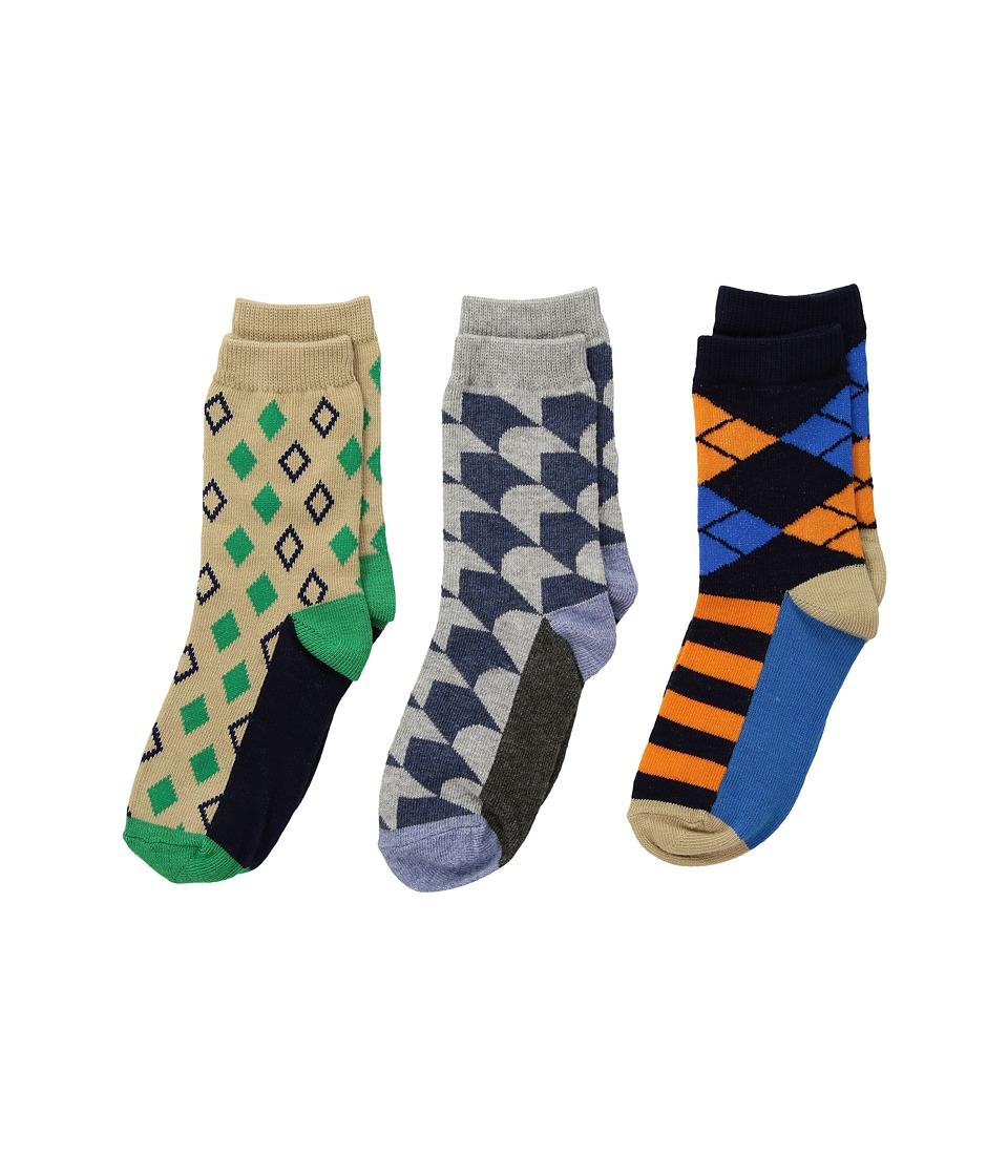 Jefferies Socks - Funky Diamond Dress Socks 3