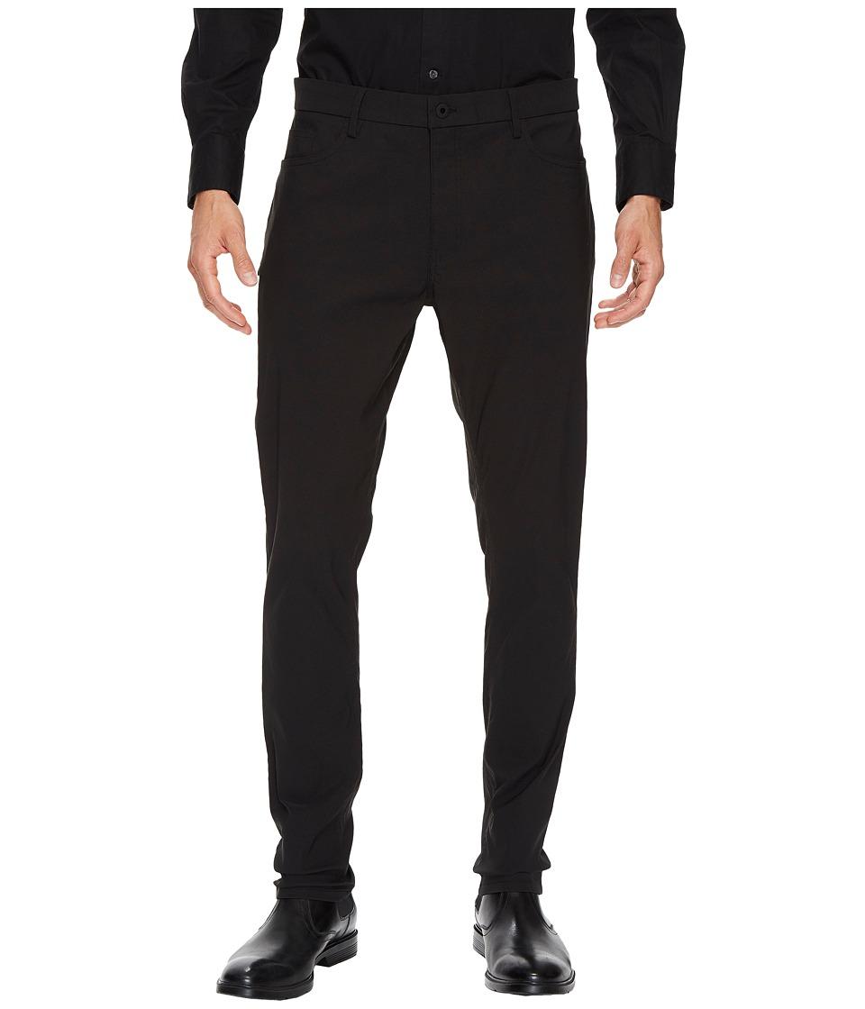 Kenneth Cole Sportswear - Five-Pocket Pants with Side Pocket