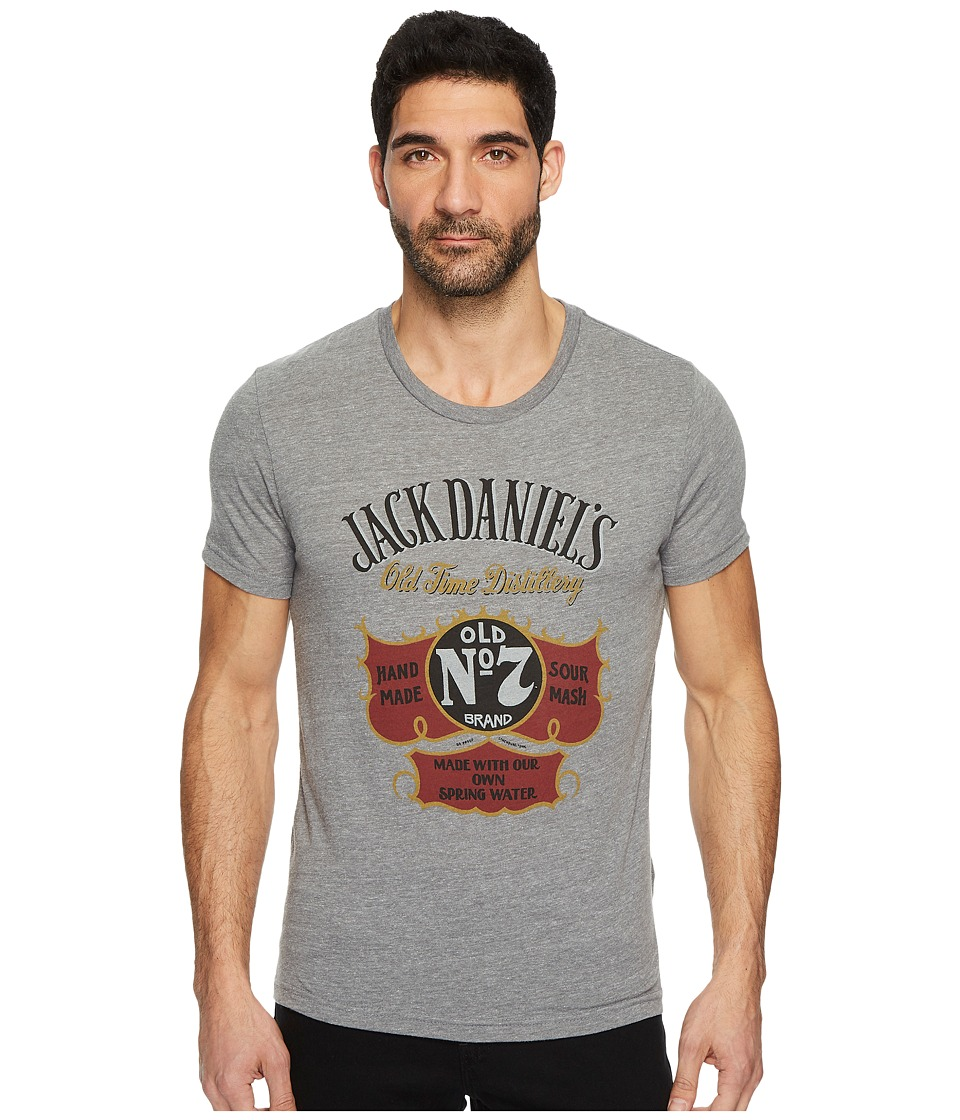Lucky Brand Jack Daniels Spring Graphic Tee (Heather Grey...