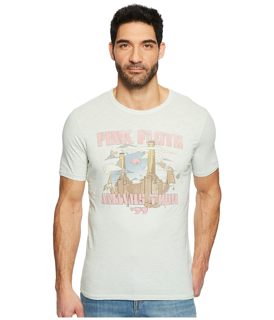 Lucky Brand Pink Floyd Towers Graphic Tee (Grey) Men