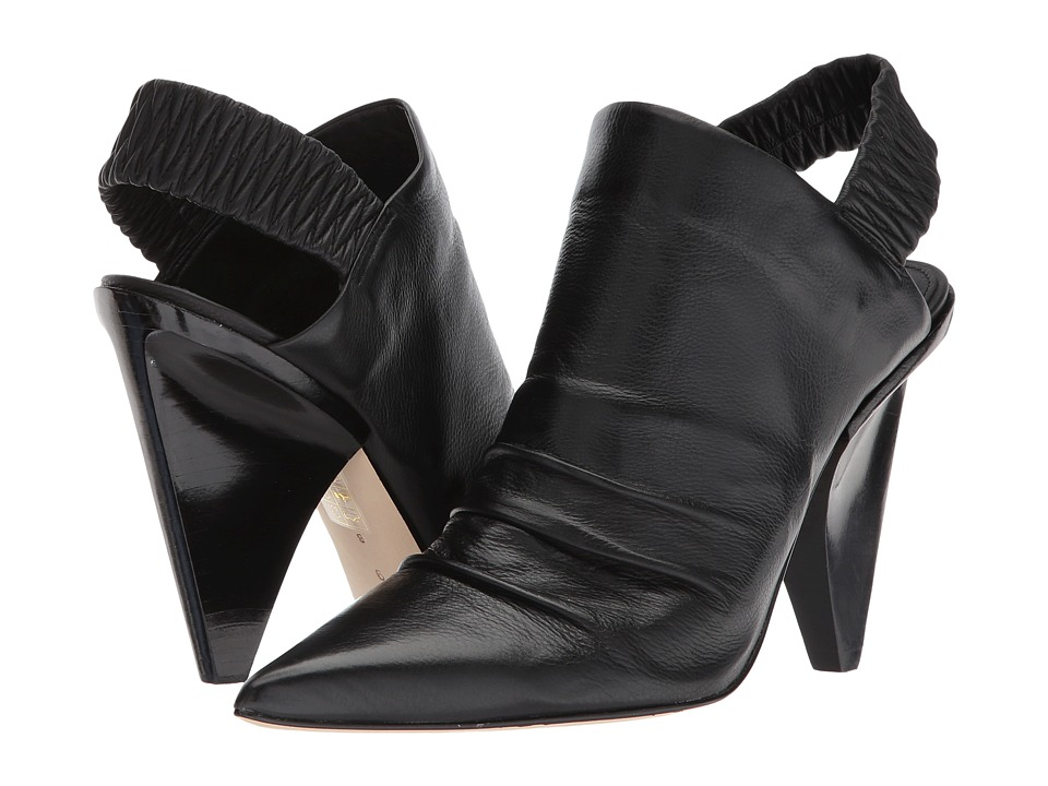 Sigerson Morrison - Jeanie (Black Buttery Leather) Womens Shoes
