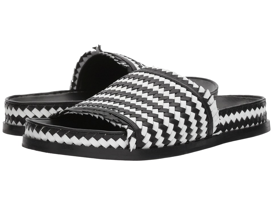Sigerson Morrison - Aoven (Black/White Leather) Womens Shoes