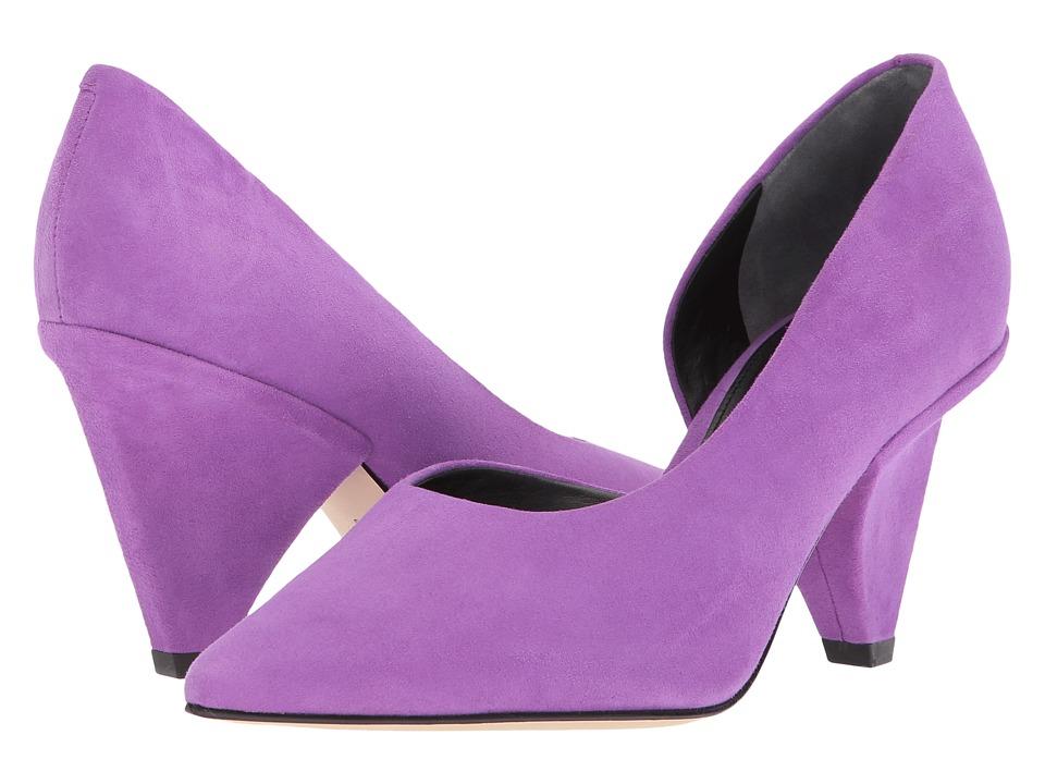 Sigerson Morrison - Garson (Purple Soft Suede) Womens Shoes