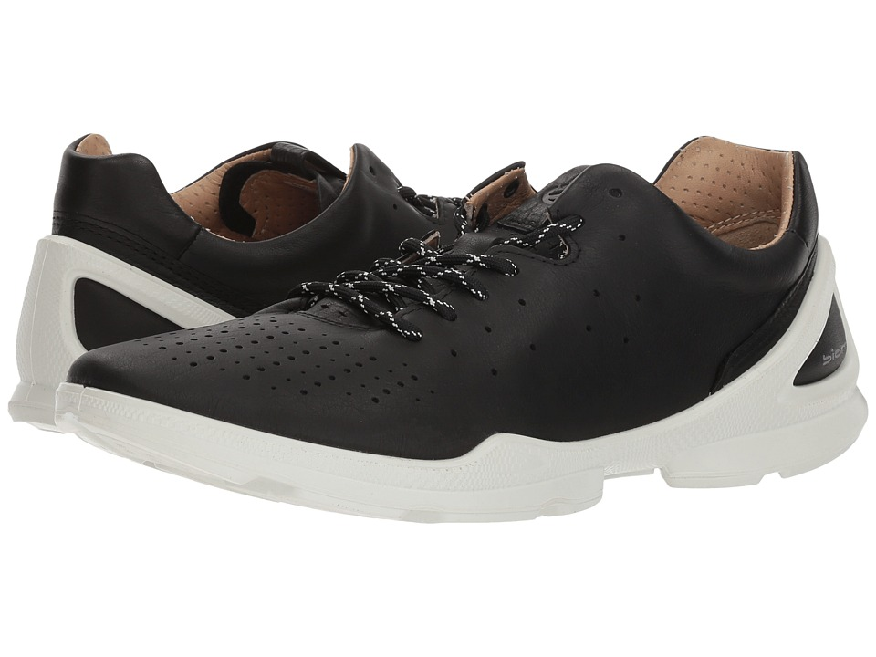 ECCO Biom Street Sneaker (Black Yak Leather) Women