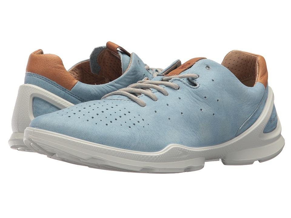 ECCO Biom Street Sneaker (Indigo 3 Heifers Leather)