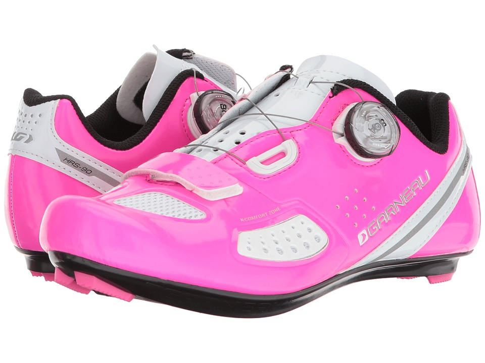 Louis Garneau Ruby II Shoes (Pink Glow) Women's Cycling Shoes