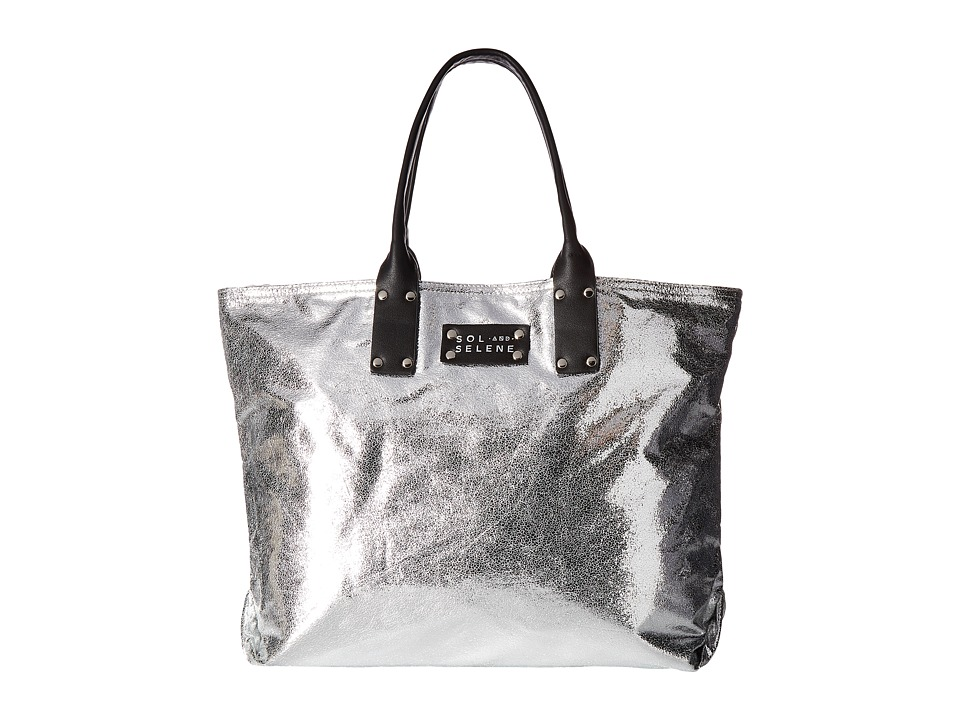 Sol and Selene - Reversible It Girl (Silver) Handbags