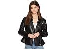 Blank NYC Ruffle Vegan Leather Jacket in Ruffle My Feather