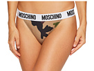 Moschino Microfiber Fashion Thong