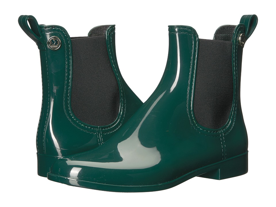 M Missoni Solid Short Rain Boot (Emerald) Women