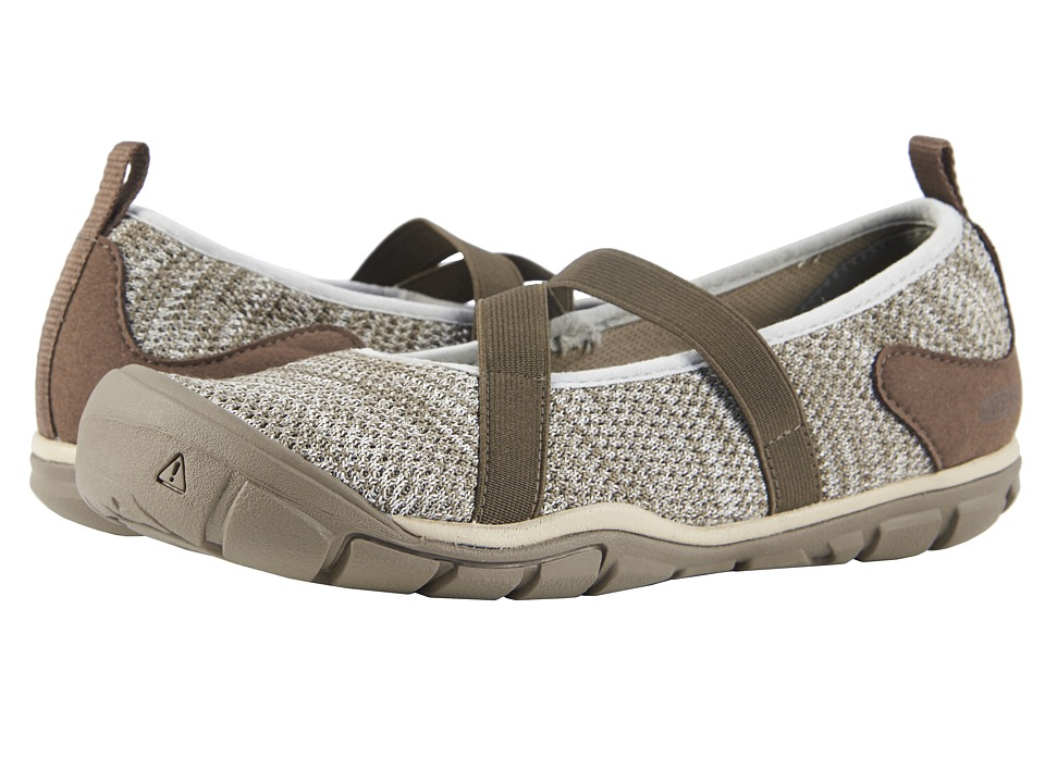 Keen Hush Knit MJ (Brindle/Canteen) Women's Shoes