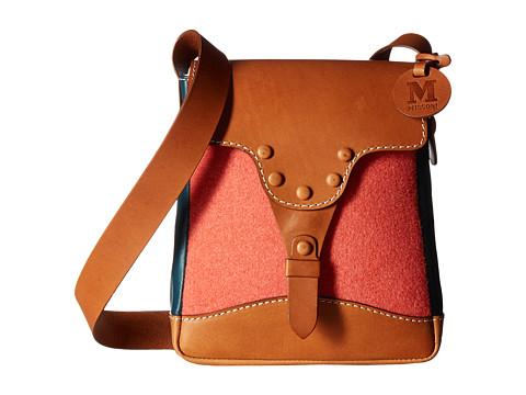 M Missoni Felt w/ Leather Bag - Coral