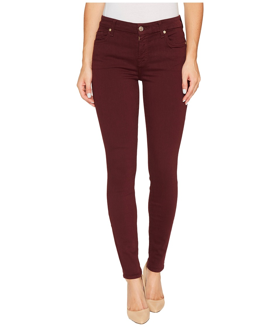 7 For All Mankind - The Ankle Skinny in Mulberry