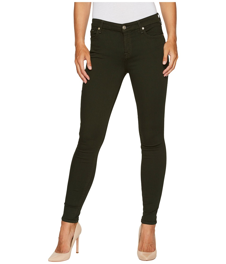 7 For All Mankind - The Ankle Skinny in Central Green
