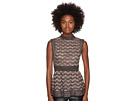 M Missoni Lurex Greek Open Knit Top