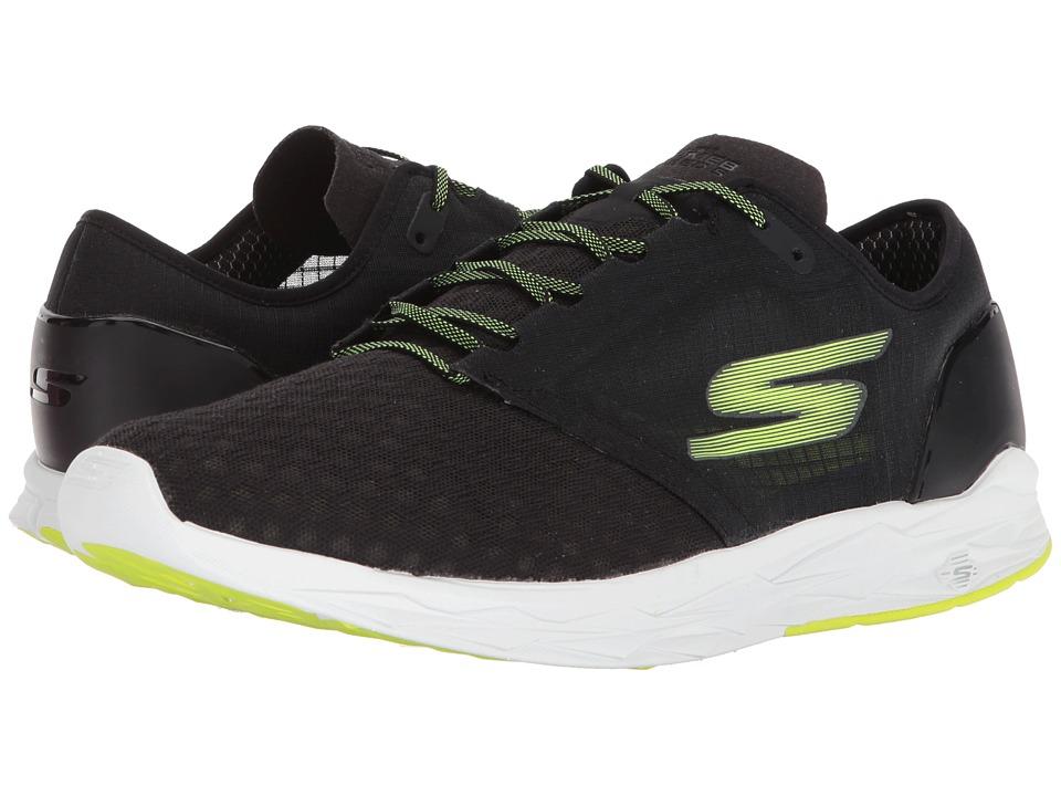 SKECHERS - Go Meb Speed 5 (Black/Lime) Mens Running Shoes