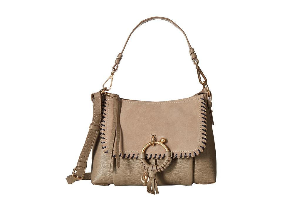 See by Chloe Joan Small Whipstitch (Motty Grey) Handbags