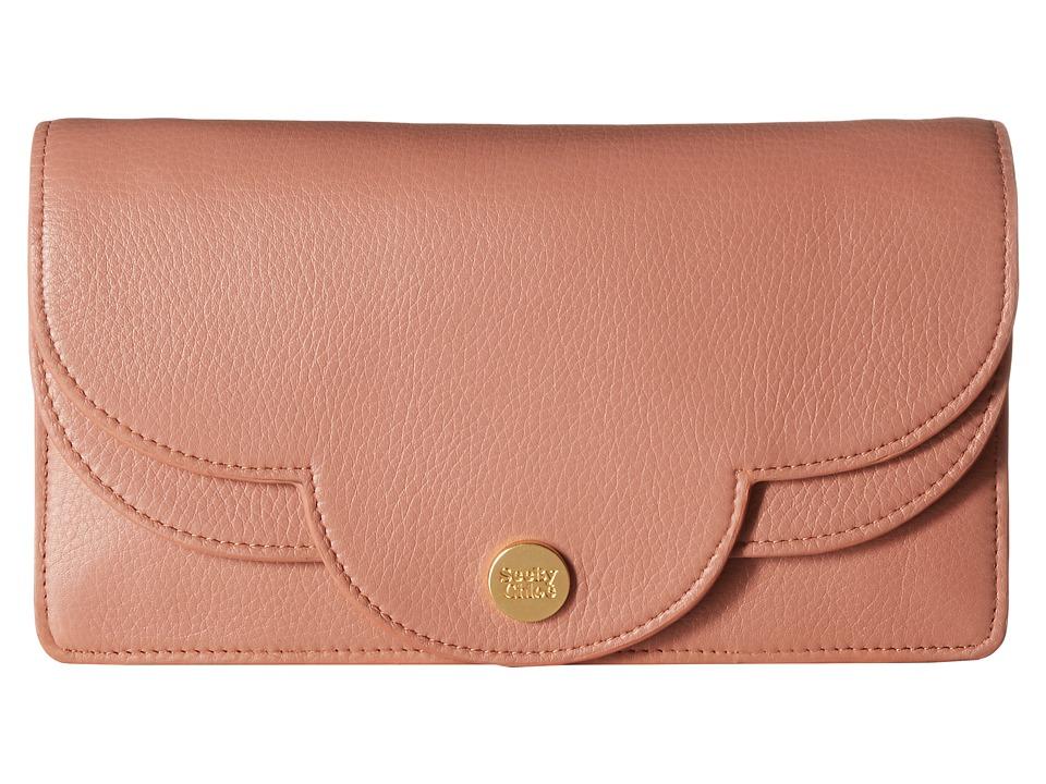See by Chloe Polina Clutch with Chain (Cheek) Clutch Handbags