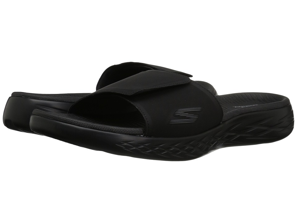 SKECHERS Performance - On-The-Go 600 - Regal (Black) Men's Sandals