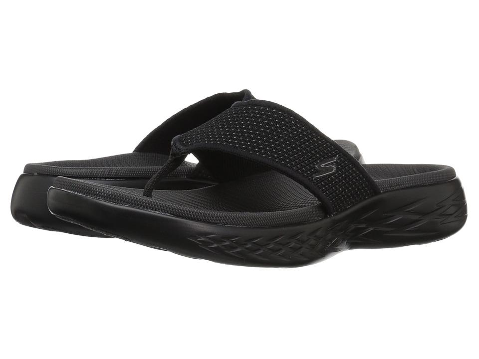 SKECHERS Performance - On-The-Go 600 - 55350 (Black) Men's Sandals