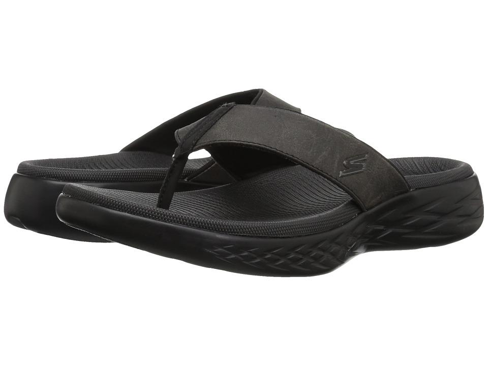 SKECHERS Performance - On the GO 600 - Seaport (Black) Men's Sandals