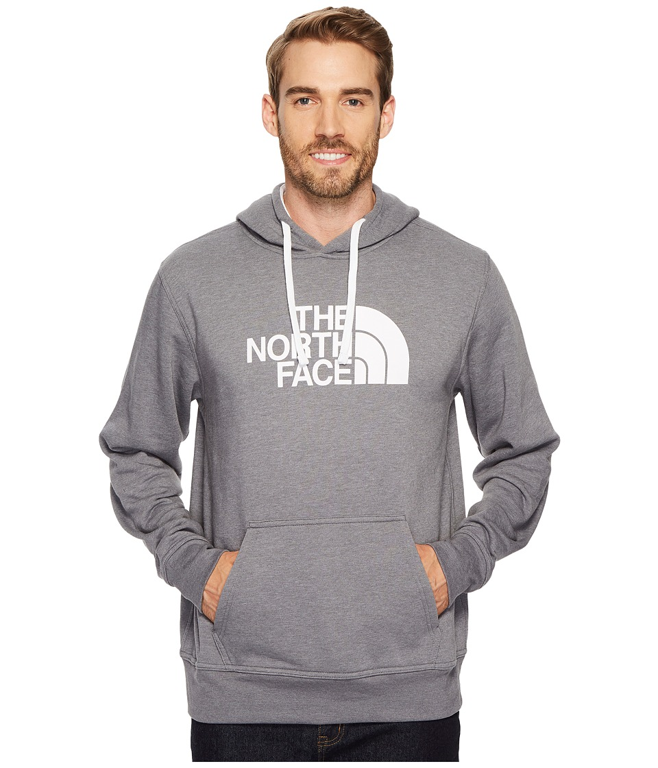 The North Face Half Dome Full Zip Hoodie (TNF Medium Grey Heather/TNF White 1) Men