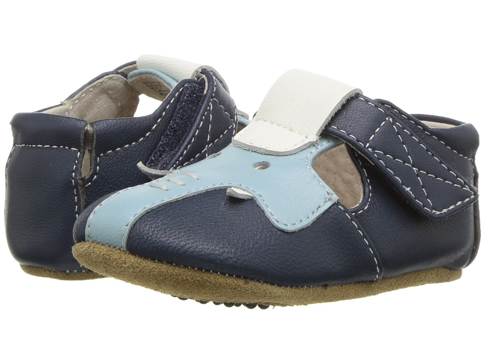 Livie & Luca - Elephant (Infant) (Navy Blue) Boys Shoes